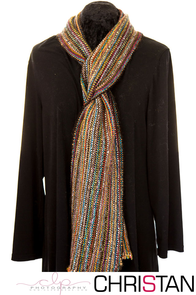 Autumn Lane Rainbow Scarf